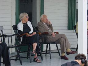 Ruth Adams and Joseph Rotblat