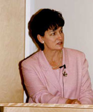 Hon. Susan Whelan, Minister of International Development for Canada