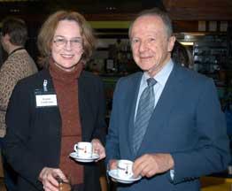 Jeanne Guillemin (MIT) and Matthew Meselson (Harvard)