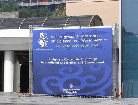 54th Pugwash Conference in Seoul