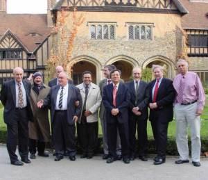Pugwash meeting participants at Cecilienhof Castle in Potsdam near Berlin