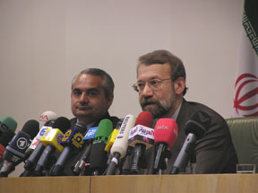 Ali Larijani, Secretary of the Supreme National Security Council