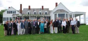 Participants at the Pugwash workshop, held at Thinkers' Lodge in Pugwash, Nova Scotia