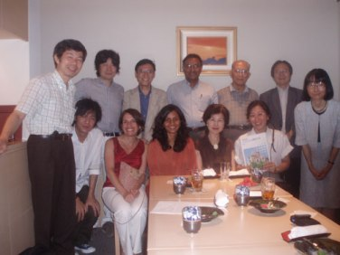 Jayantha Dhanapala with members of the Pugwash Group in Japan, 3rd August 2008
