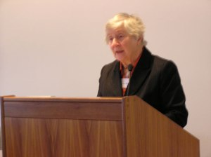 Baroness Williams of Crosby addresses the seminar