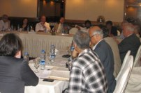 Participants at the Islamabad consultation, September 2012