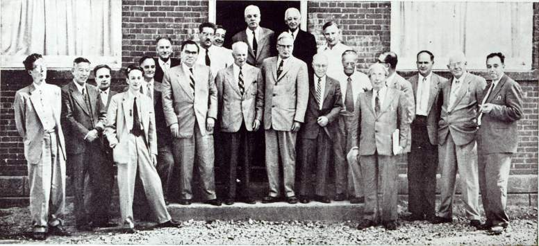 Participants of the 1st Pugwash Conference, 1957