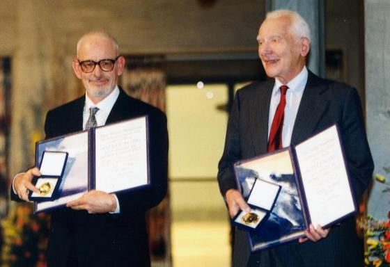 1995: Pugwash and Joseph Rotblat share the Nobel Peace Prize