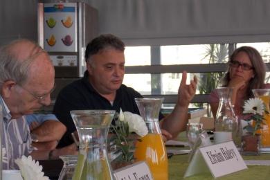 Efraim Halevy, Jeremy Issacharoff, Emily Landau
