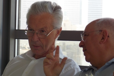 Sverre Lodgaard, Shai Feldman