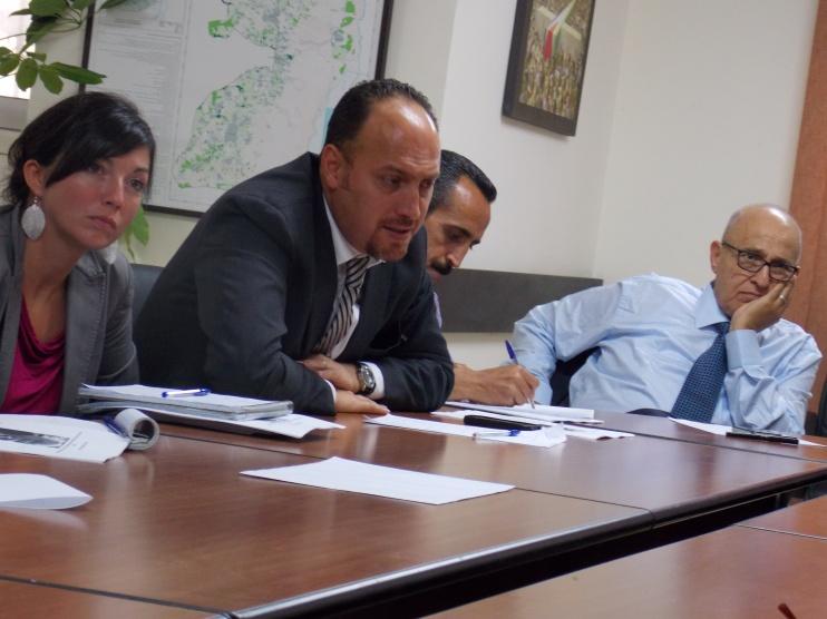 Dr Husam Zomlot speaks at the Pugwash Ramallah Roundtable
