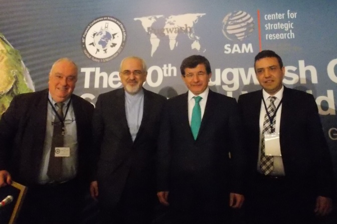 60th Pugwash Conference- Cotta-Ramusino, Zarif, Davultoglu, Aras