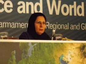 *Saideh Lotfian (Iran), Chair of Pugwash Council