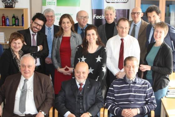 Participants in Pugwash Consultation on Geneva II