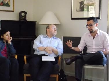 Taghreed el-Khodari, Steve Miller and Reza Marashi