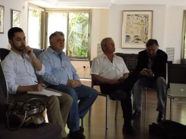 Jeremy Issacharoff, Aharon Zohar, Svein Sevje