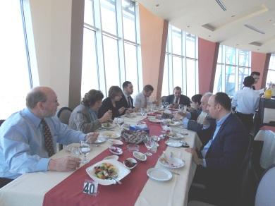 Lunch in Ramallah