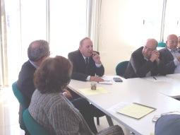 Meeting at Birzeit University