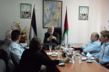 Meeting in Hebron
