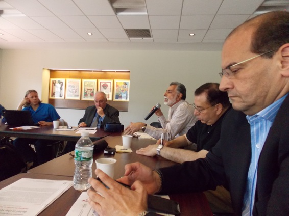 NYC meeting on WMD in the Middle East