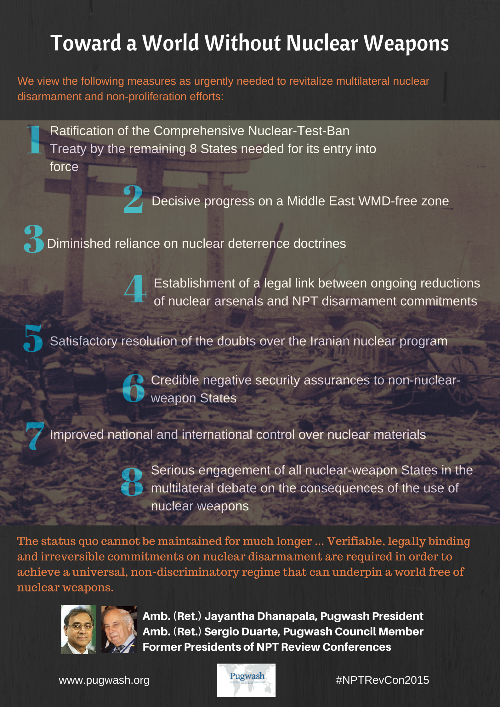 an argument in favor of ratifying the comprehensive nuclear test ban treaty Remarks on the comprehensive nuclear-test-ban treaty message of not ratifying this treaty is our effort to reduce the nuclear threat the argument.