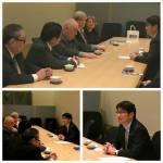 Meeting with Mayor of Nagasaki