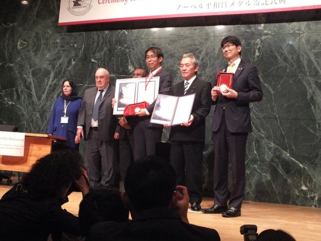 Nobel Peace Symbols