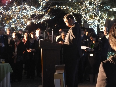 Hon. Yohei Kono, former Speaker of the Lower House, former Foreign Minister, Glover Gardens, 3 November