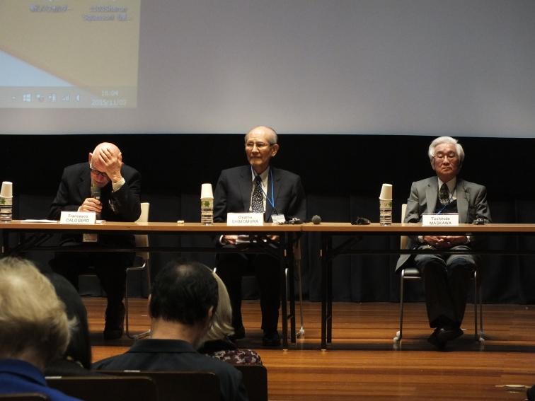 Dorothy Hodgkin lecture 2015: Prof Shimomura and Prof Maskawa