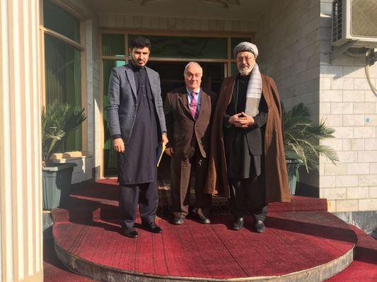 Meeting with H.E. Karim Khalili