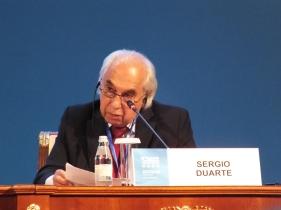Response by Sergio Duarte (Brazil), Pugwash Council
