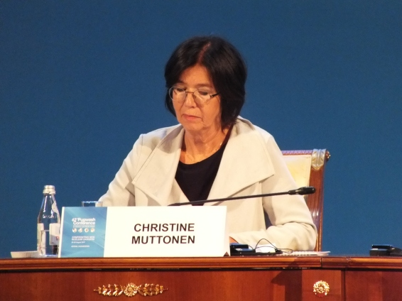Christine Muttonen (Austria), President of the OSCE Parliamentary Assembly
