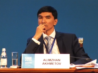 Alimzhan Akhmetov (Kazakhstan), Center for International Security and Policy, Astana