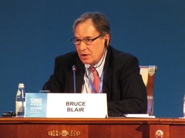 Bruce Blair (USA), Program on Science and Global Security at Princeton University