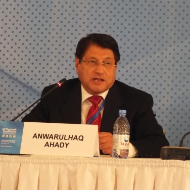 Anwarulhaq Ahady (Afghanistan), Afghan Minister of Transportation and Commerce