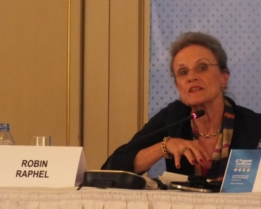 Robin Raphel (USA), former Senior Advisor on South Asia, US State Department