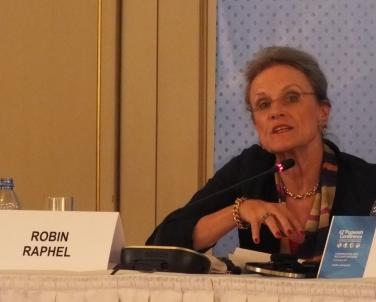 Robin Raphel (USA), former Senior Advisor on South Asia, US State Department