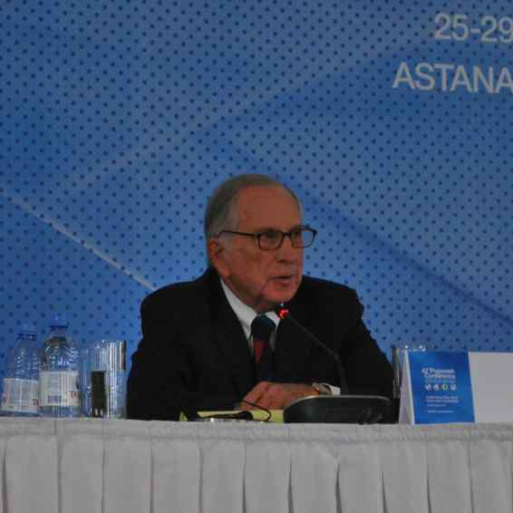 Sam Nunn (USA), Co-chair of the Nuclear Threat Initiative
