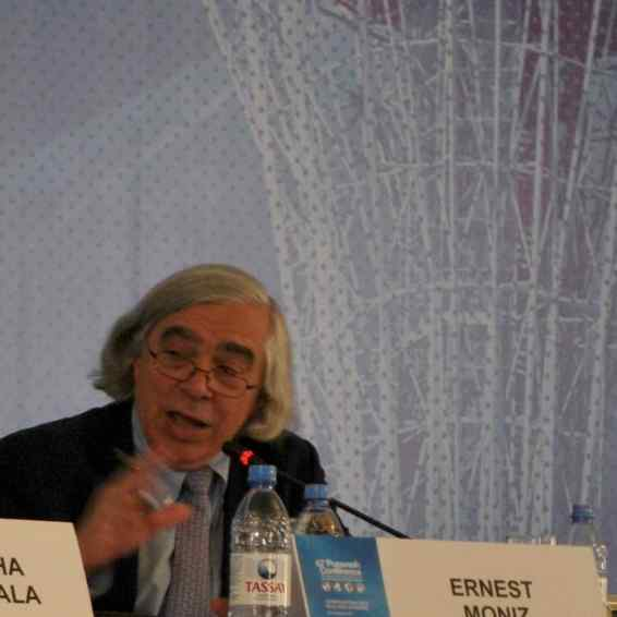 Ernest Moniz (USA), Chief Executive Officer and Co-chair of the Nuclear Threat Initiative