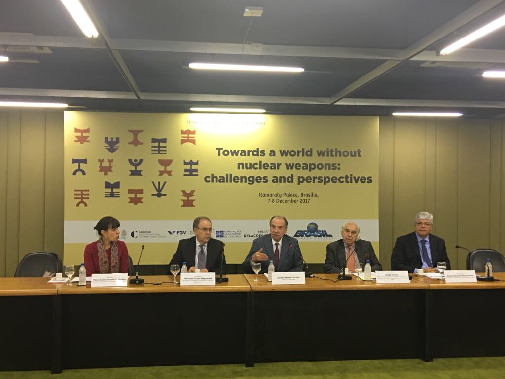 Brasilia Meeting On A World Without Nuclear Weapons Pugwash