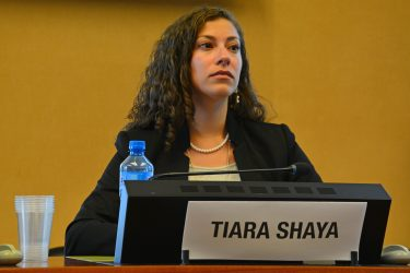 Tiara Shaya, CTBTO Youth Group