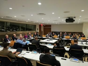 Pugwash meeting participants, 9 October 2018