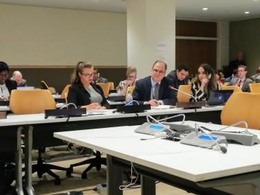 Ambassador Mauro Vieira, Permanent Representative of Brazil to the United Nations