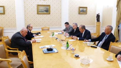 Meeting with Minister Lavrov