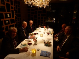 Dinner with Russian Pugwash members